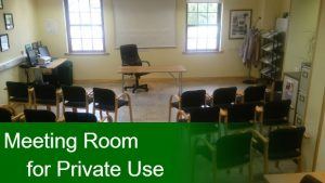 Meeting Room for Private Use