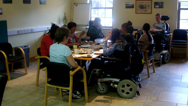 LAPWD Members participating in training