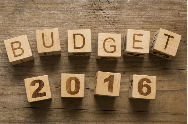 Budget 2016 Information