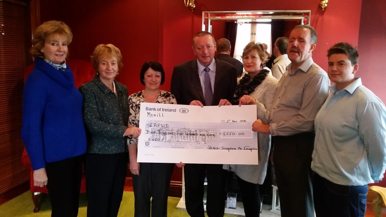 Leitrim couple raise €100,000 in funds for local charities
