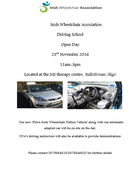 Driving school open day