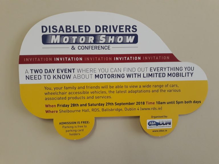 Disabled drivers Motor show