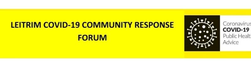 Leitrim COVID-19 Community Response Forum - Header Image