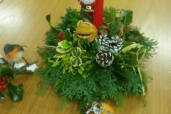 Beautiful Floral Arrangement by LAPWD Members